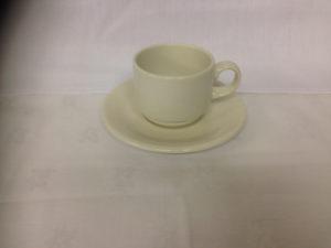 Plain White Tea Cup