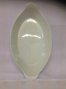Oval China Serving Dish