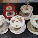 2 Tier Vintage Cake Stand