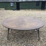 6ft / 5ft Round Table